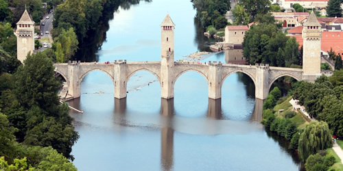 The Pont Valentre at Cahors